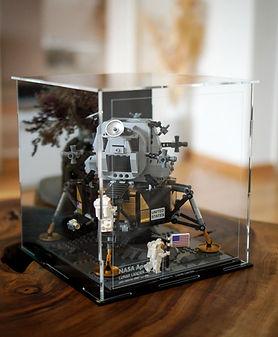 Vitrine Plexiglas BriquesaBoX pour LEGO 10266 CREATOR APOLLO 11 NASA LUNAR LANDER