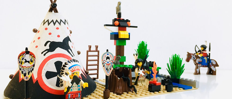 LEGO ® WESTERN INDIANS 6746 Chief's Tepee