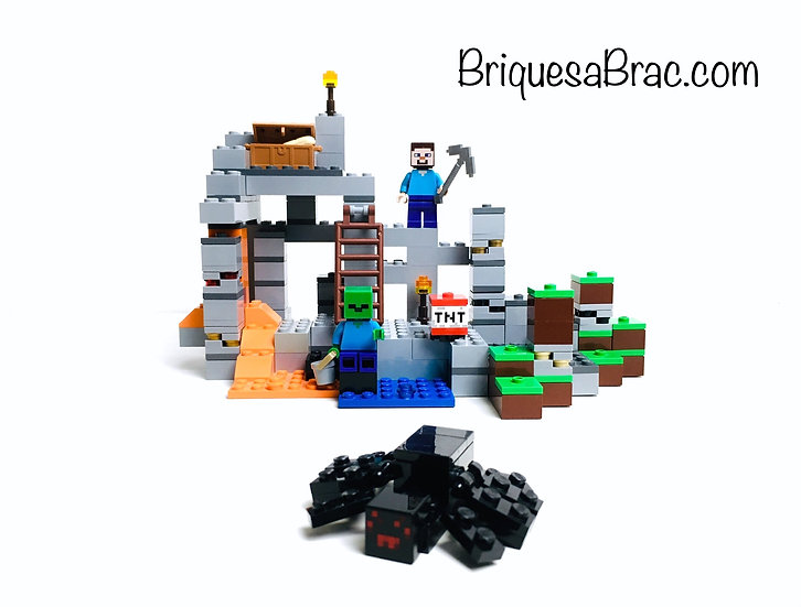 LEGO ® MINECRAFT 21113 La Caverne (The Cave)