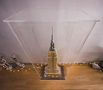 Vitrine Plexigas acrylique Briquesabox LEGO Empire States Building