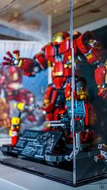Vitrine Plexiglas Briquesabox LEGO 76105 The Hulkbuster: Ultron Edition