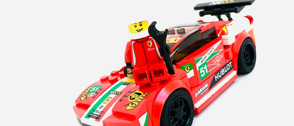 LEGO ® SPEED CHAMPIONS 75908 Ferrari 458 Italia GT2