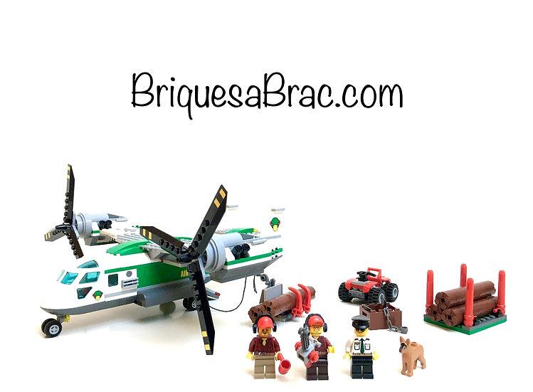 LEGO ® CITY 60021 L'Avion Cargo (Heliplane)