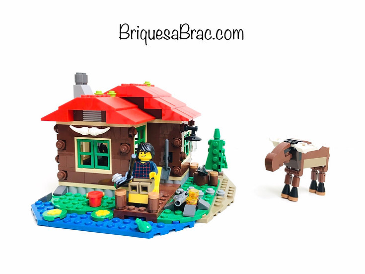 LEGO ® CREATOR 3EN1 31048 La Cabane au bord du Lac
