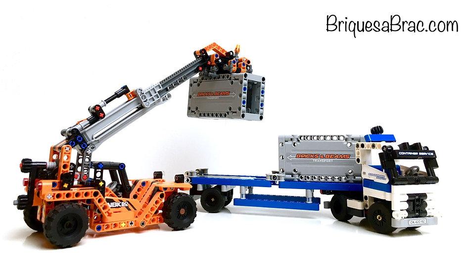 LEGO® TECHNIC 42062 Le transport du Container