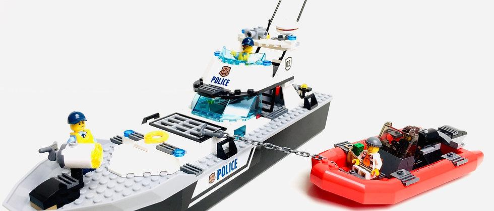 LEGO ® CITY 60129 La Patrouille de Police en Mer et le Zodiac