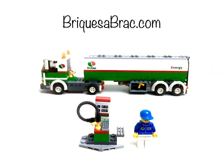 LEGO® CITY 3180 Le Camion Citerne OCTAN (Tank Truck)