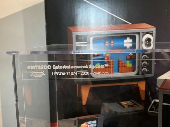 Vitrine BriquesaBoX Nintendo Entertainement System LEGO 71374