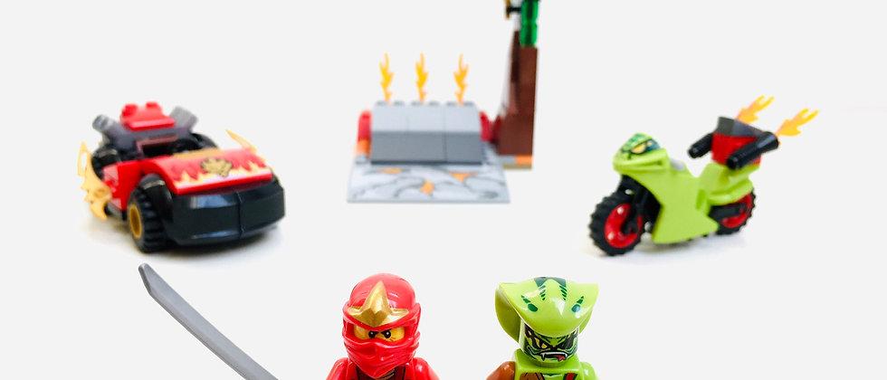 LEGO ® JUNIORS NINJAGO 10722 Snake showdown
