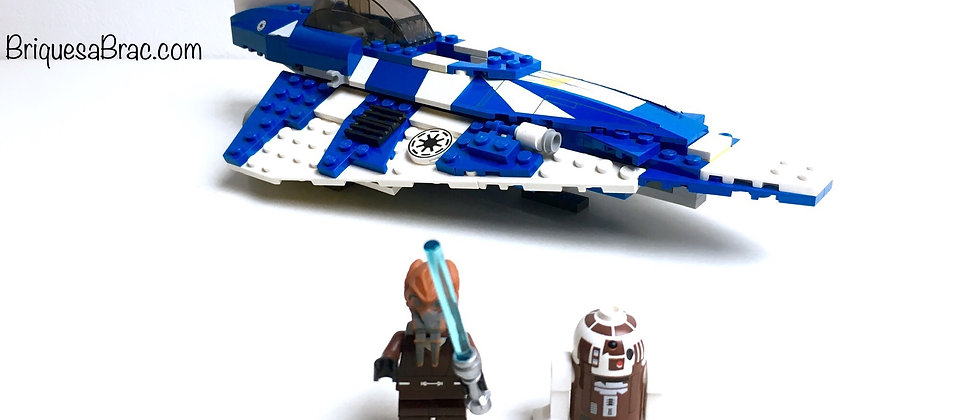 LEGO ® STAR WARS 8093 Plo Koon's Jedi Starfighter