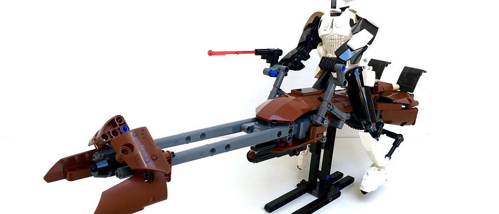 LEGO ® STAR WARS 75532 Scout Trooper & Speeder Bike