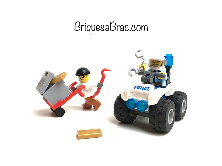 LEGO ® CITY 60135 L'arrestation en Quad tout-terrain (Occasion)