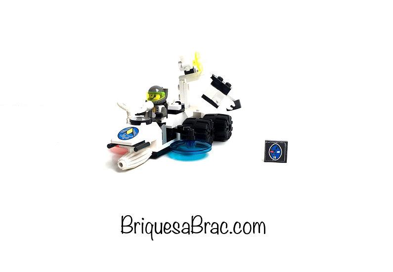 LEGO ® SPACE EXPLORIENS 6854 Alien Fossilizer (Occasion)