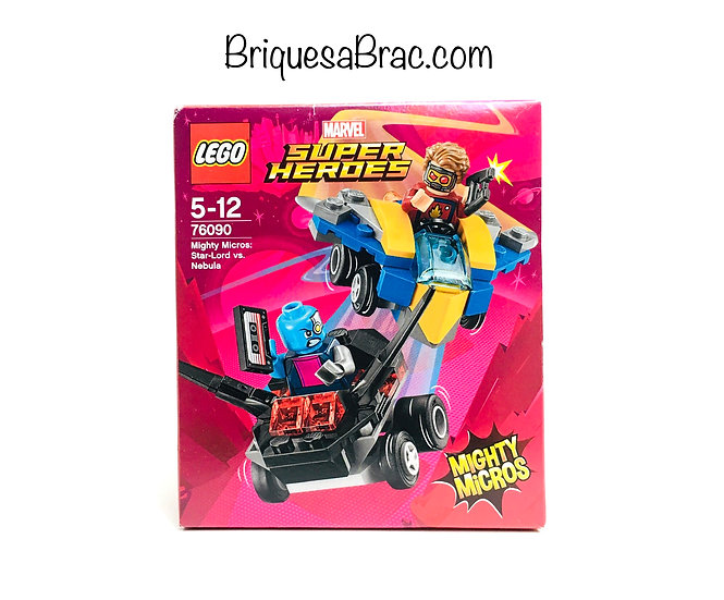 LEGO ® SUPER HEROES 76090 Mighty Micros: Star-Lord vs. Nebula (Neuf)