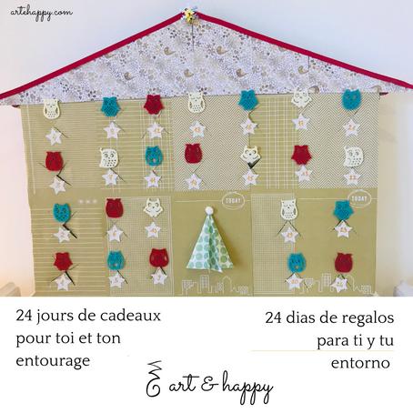 24 jours de cadeaux / 24 días de regalos