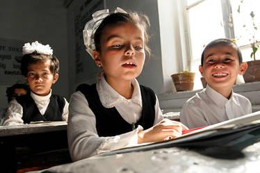 Dorfschule, Urgench, Usbekistan