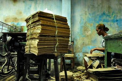 Kartonagefabrik, Santiago de Cuba