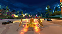 Mobile Game Racing Game Running Rich Racing Track Fairy Tale Forest Queen of Hearts POV