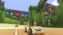 Mobile Game Racing Game Running Rich Racing Track Prince Charming's Castle Prince Charming Garden Cinematic Gameplay