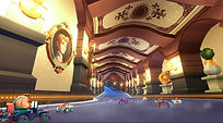 Mobile Game Racing Game Running Rich Racing Track Prince Charming's Castle Hallway Cinematic Gameplay