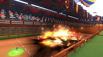 Mobile Game Racing Game Running Rich Racing Track Jousting Stadium Explosion Gameplay Cinematic