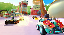 Mobile Game Racing Game Running Rich Racing Track Queen's Tea Party Cinematic