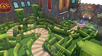 Mobile Game Racing Game Running Rich Racing Track Prince Charming's Castle