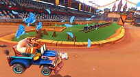 Mobile Game Racing Game Running Rich Racing Track Jousting Stadium The Giant The Birds Gameplay Cinematic