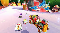 Mobile Game Racing Game Running Rich Racing Track Queen's Tea Party Prince Charming Cinematic