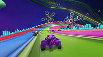 Mobile Game Racing Game Running Rich Racing Track The Rave Cheshire Cat POV  Gameplay