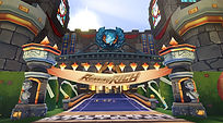 Mobile Game Racing Game Running Rich Racing Track Prince Charming's Castle Track Entry Gameplay