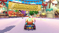 Mobile Game Racing Game Running Rich Racing Track Queen's Tea Party The Giant Track Entry