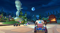 Mobile Game Racing Game Running Rich Racing Track Fairy Tale Forest Cha Cha Statue Gameplay The Giant