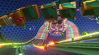 Mobile Game Racing Game Running Rich Racing Track The Rave Gameplay Cinematic