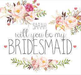 gift will you be my bridesmaid gift box