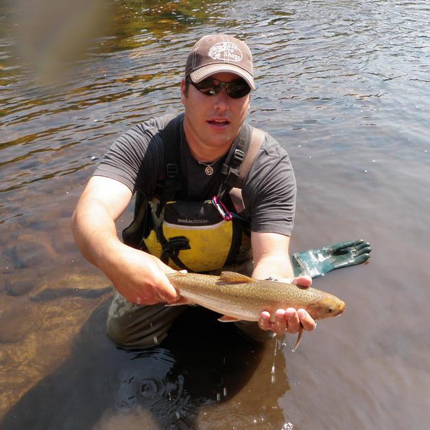 Gary Pritchard Fish Monitoring and Sample