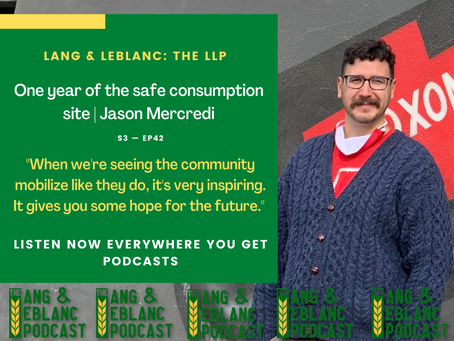 EP42: One year of the safe consumption site | Jason Mercredi