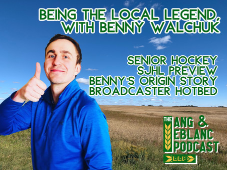 EP39: Being the Local Legend | Benny Walchuk