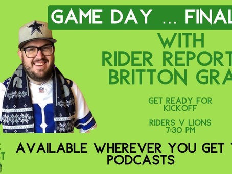 EP31: Game Day … finally, with Britton Gray