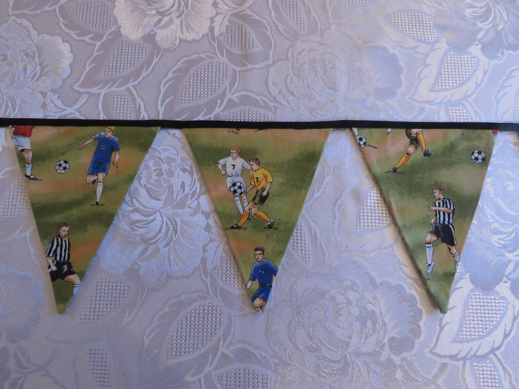 Football - 5 flags