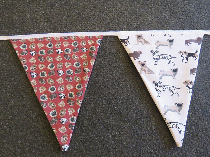Doggie lovers bunting
