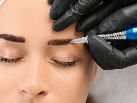 HOW TO FADE MICROBLADED BROWS