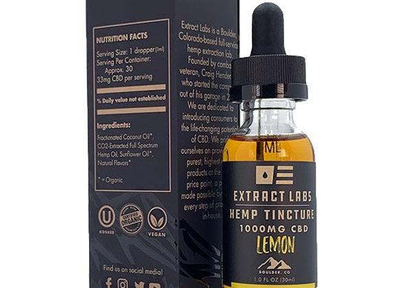 Extact Labs Hemp Tinture Lemon | 1000 mg CBD