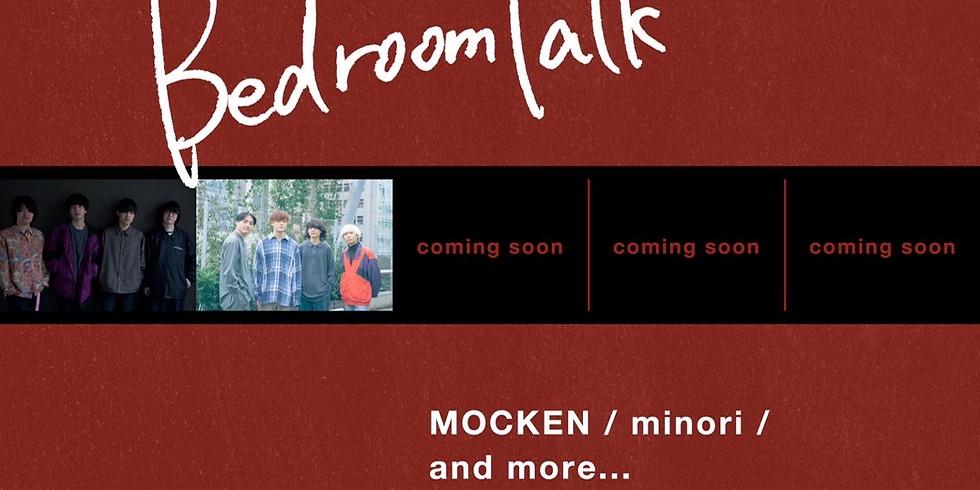 """MOCKEN × minori pre. """"Bedroom Talk"""""""