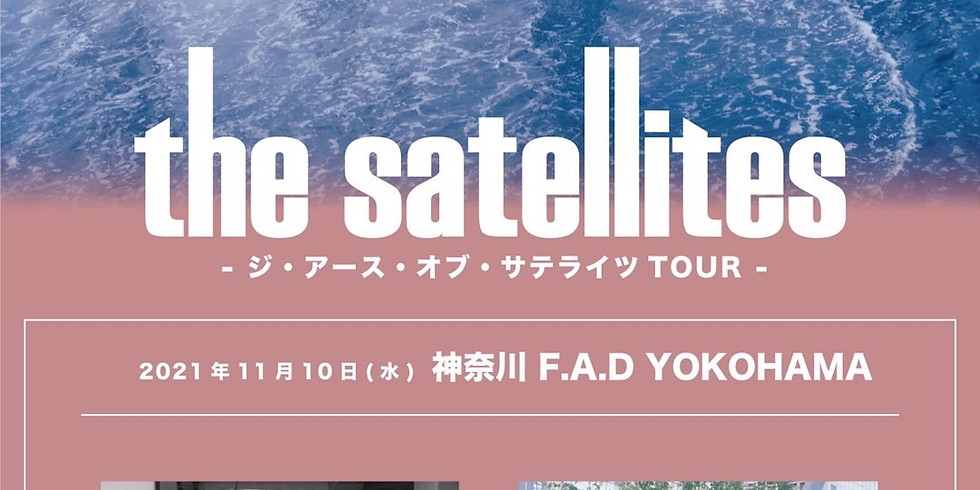 "the satellites ""ジ・アース・オブ・サテライツTOUR"