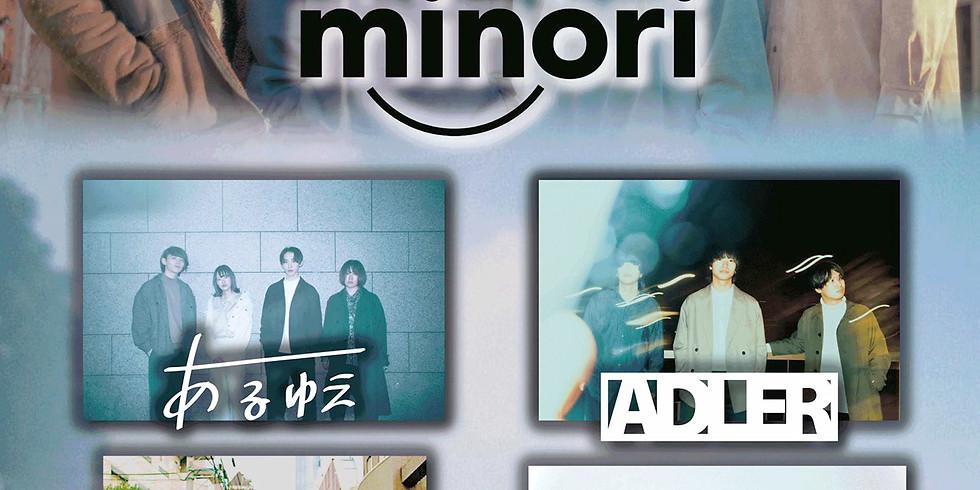 "minori 1st EP ""Blue.""Release Party"