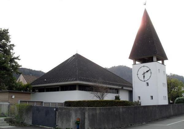 Evang. Kirche Bichelsee aussen
