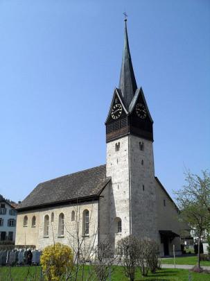Evang. Kirche Dussnang aussen