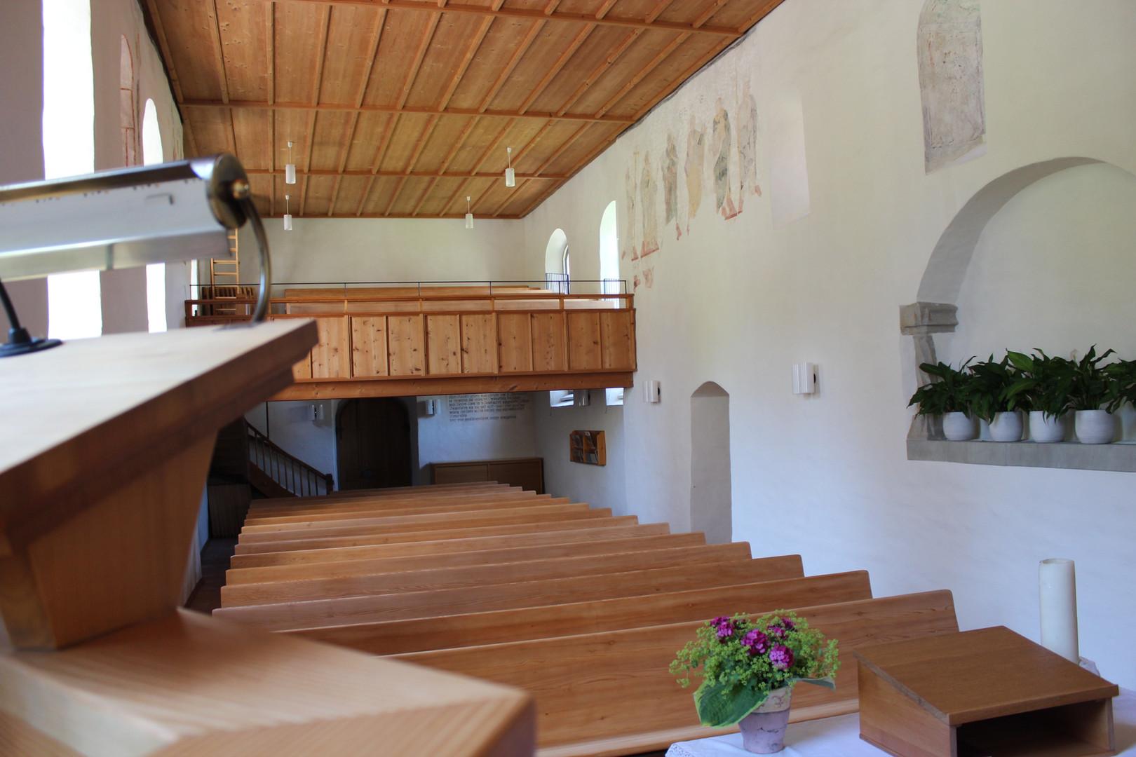 Evang. Kirche Dussnang innen 2