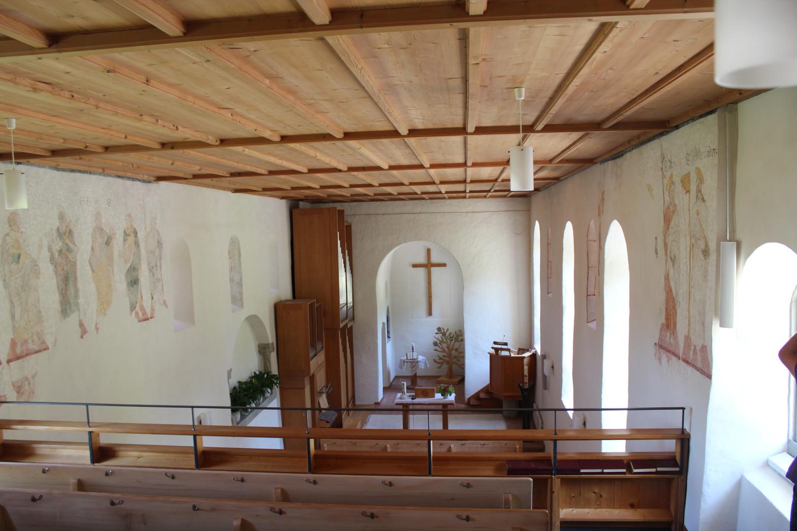 Evang. Kirche Dussnang innen 1